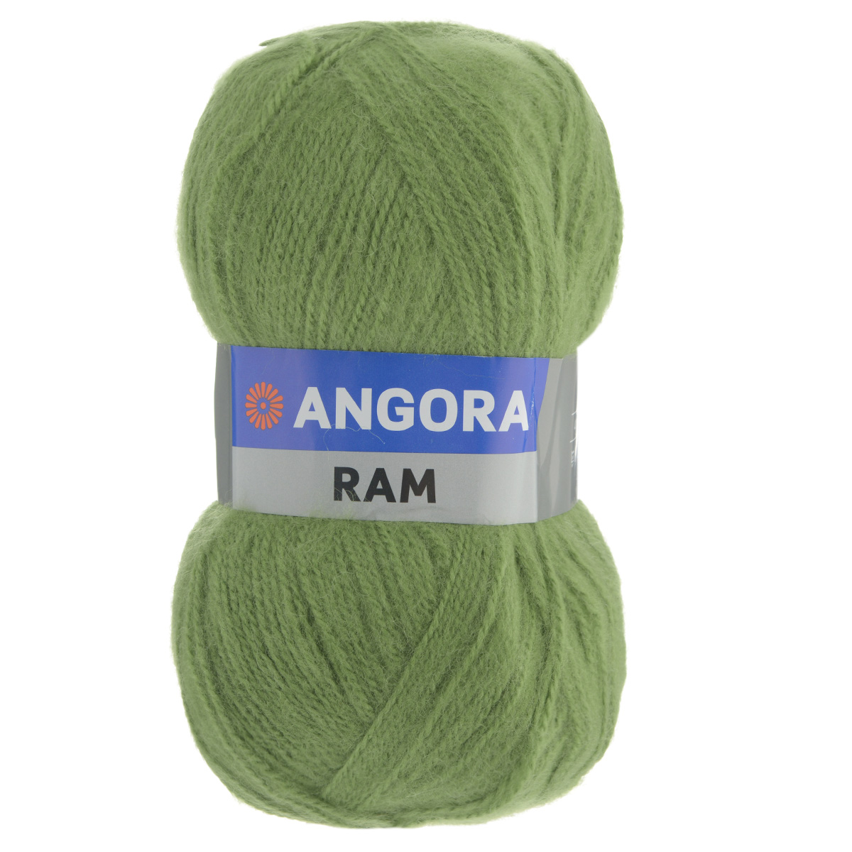 "Пряжа для вязания YarnArt ""Angora Ram"", цвет: темно-зеленый (098), 500 м, 100 г, 5 шт"