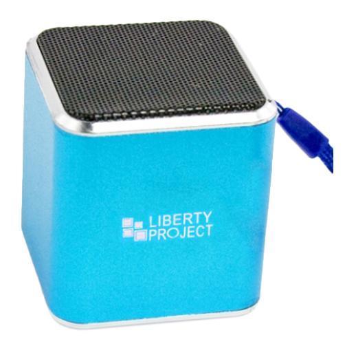 Фото - Беспроводная колонка Liberty Project M1, Blue беспроводная bluetooth колонка edifier m33bt
