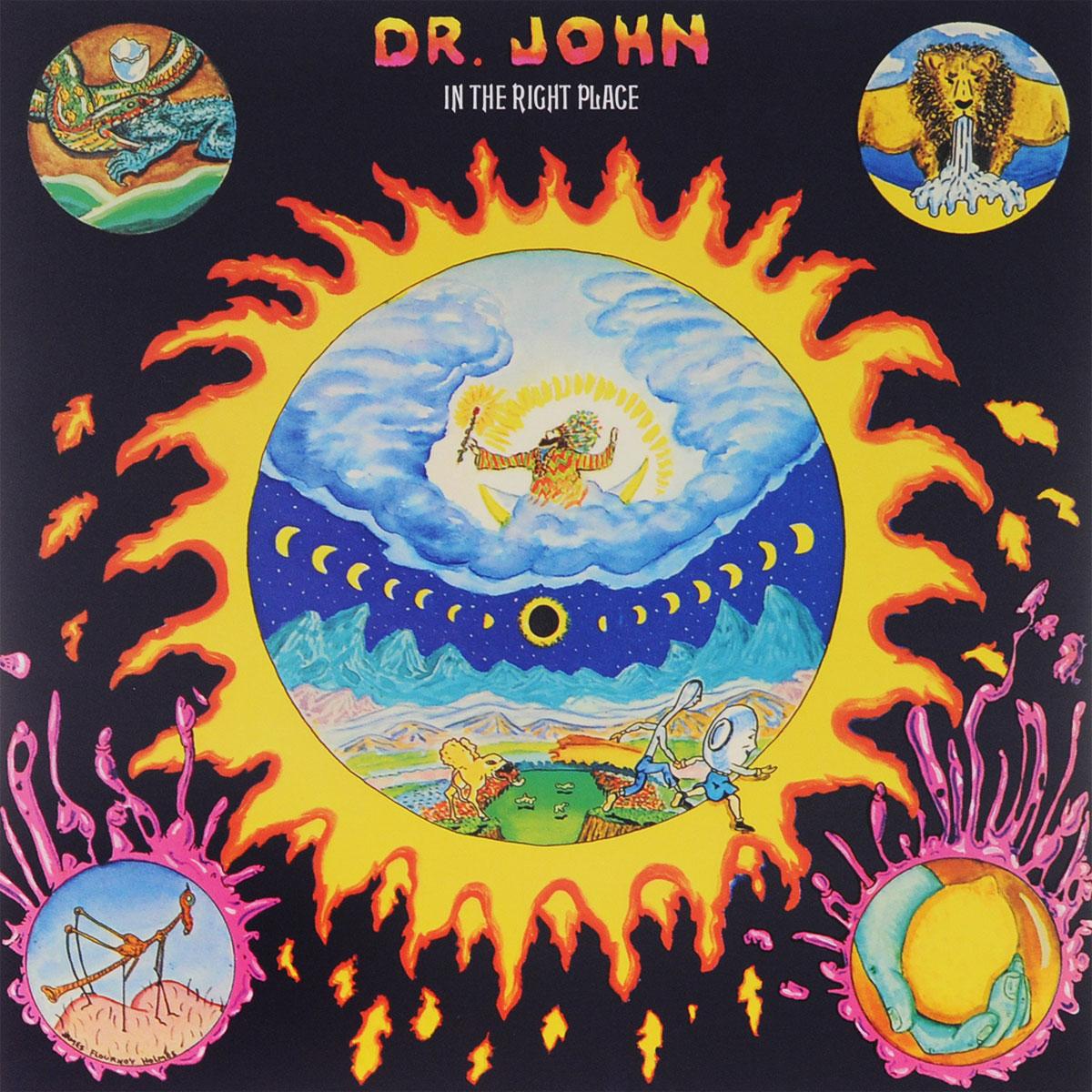 Доктор Джон Dr. John. In The Right Place (LP) доктор джон dr john locked down