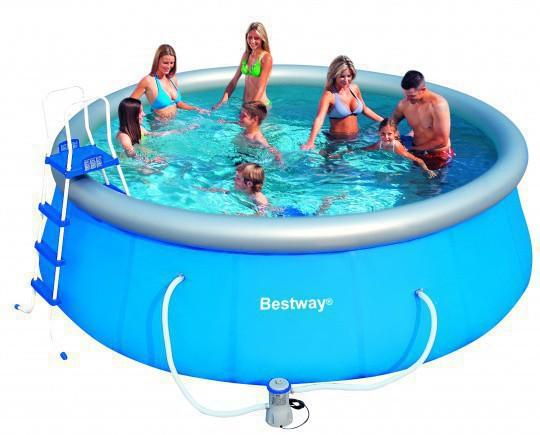 Надувной бассейн Bestway 57148, 457Х122 см бассейн каркасный bestway 56100 457х122 см 56438