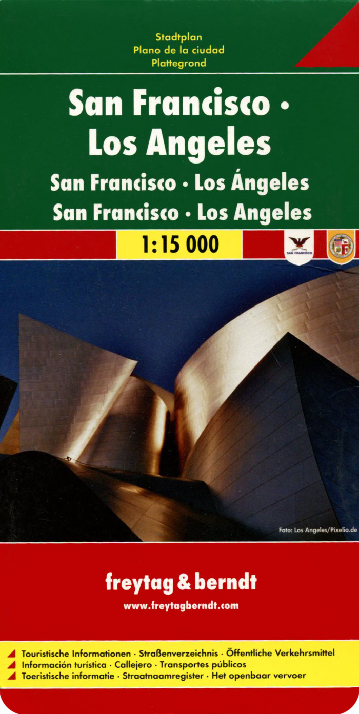 San Francisco, Los Angeles: Stadtplan hocking l way ahead 4 practice book