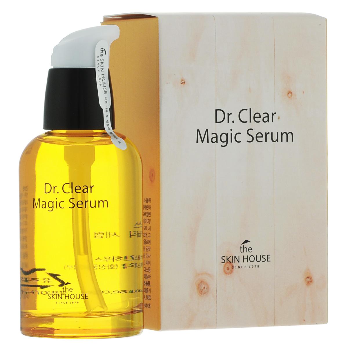 The Skin House Сыворотка от воспалений DR. Clear magic, 50 мл средство dr clear 30 мл the skin house средство dr clear 30 мл