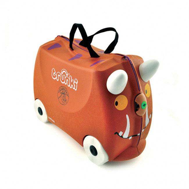 Trunki Чемодан-каталка Граффало детские чемоданы trunki детская каталка чемодан taxi tony тони таксист