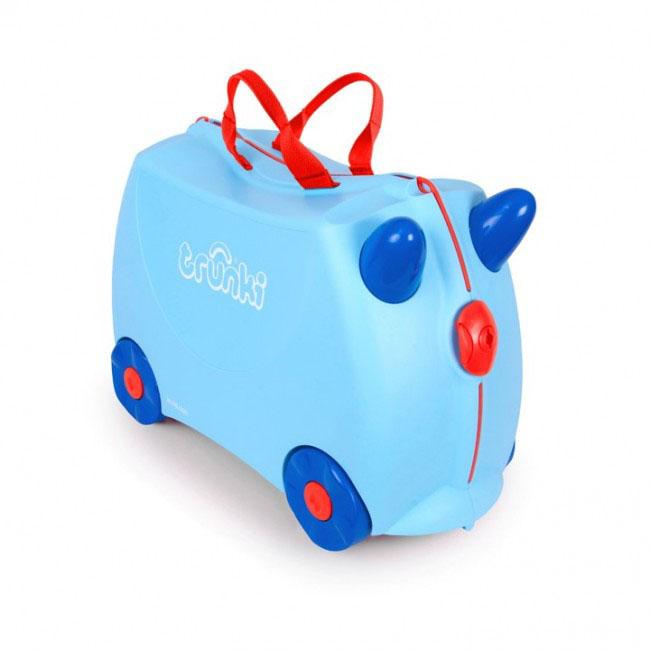 Trunki Чемодан-каталка Джоржд детские чемоданы trunki детская каталка чемодан taxi tony тони таксист