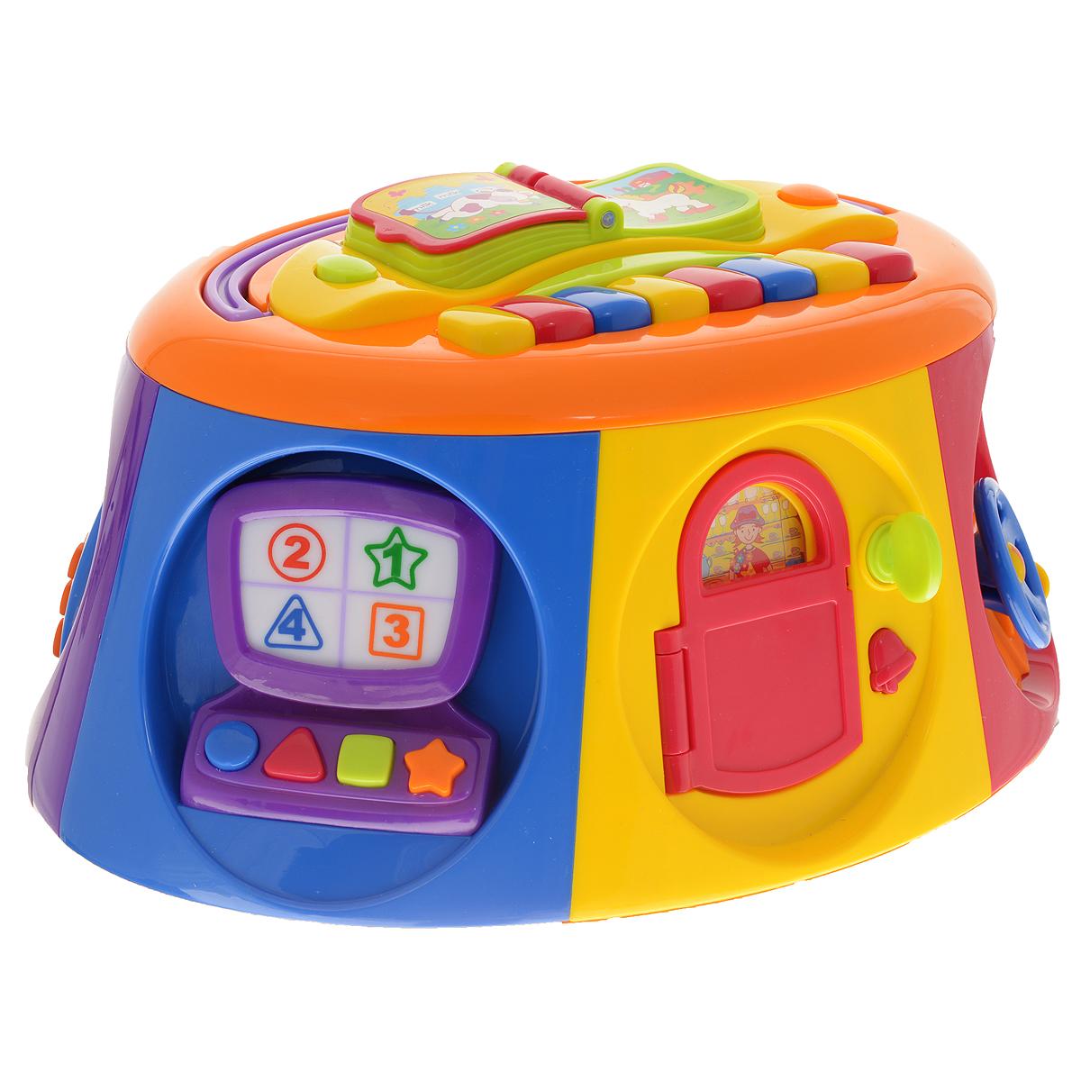 Развивающая игрушка Kiddieland Активный короб с книжкой развивающая игра kiddieland активный короб с книжкой