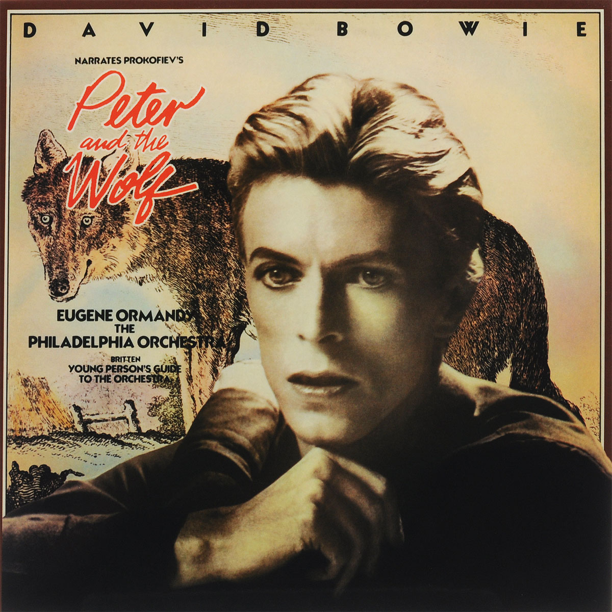 цена на Дэвид Боуи,The Philadelphia Orchestra,Юджин Орманди David Bowie. Peter And The Wolf (LP)