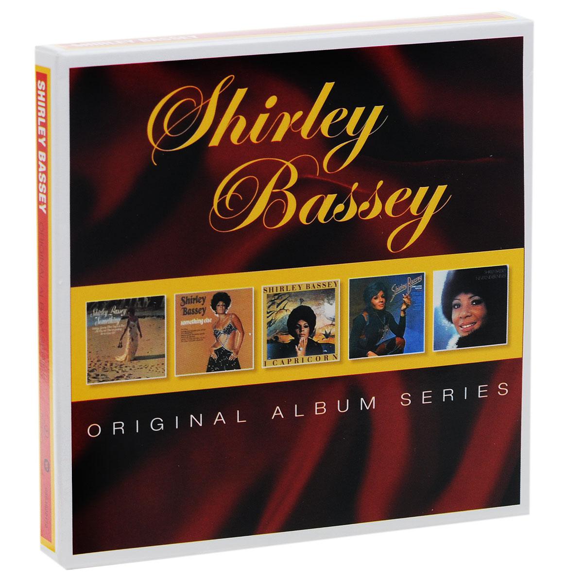 Ширли Бэсси Shirley Bassey. Original Album Series (5 CD)