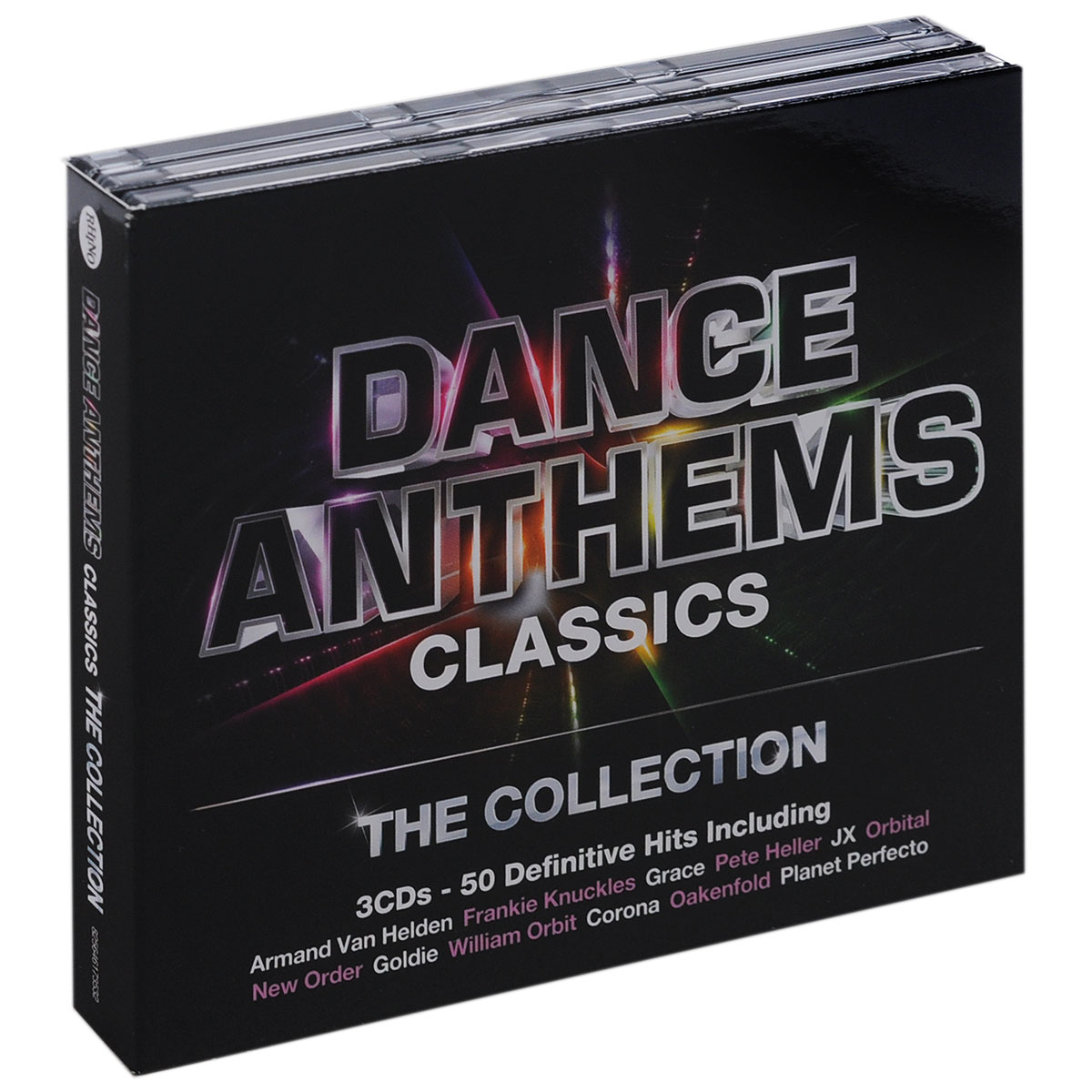 Dance Anthems Classics. The Collection (3 CD) festivals the collection 3 cd