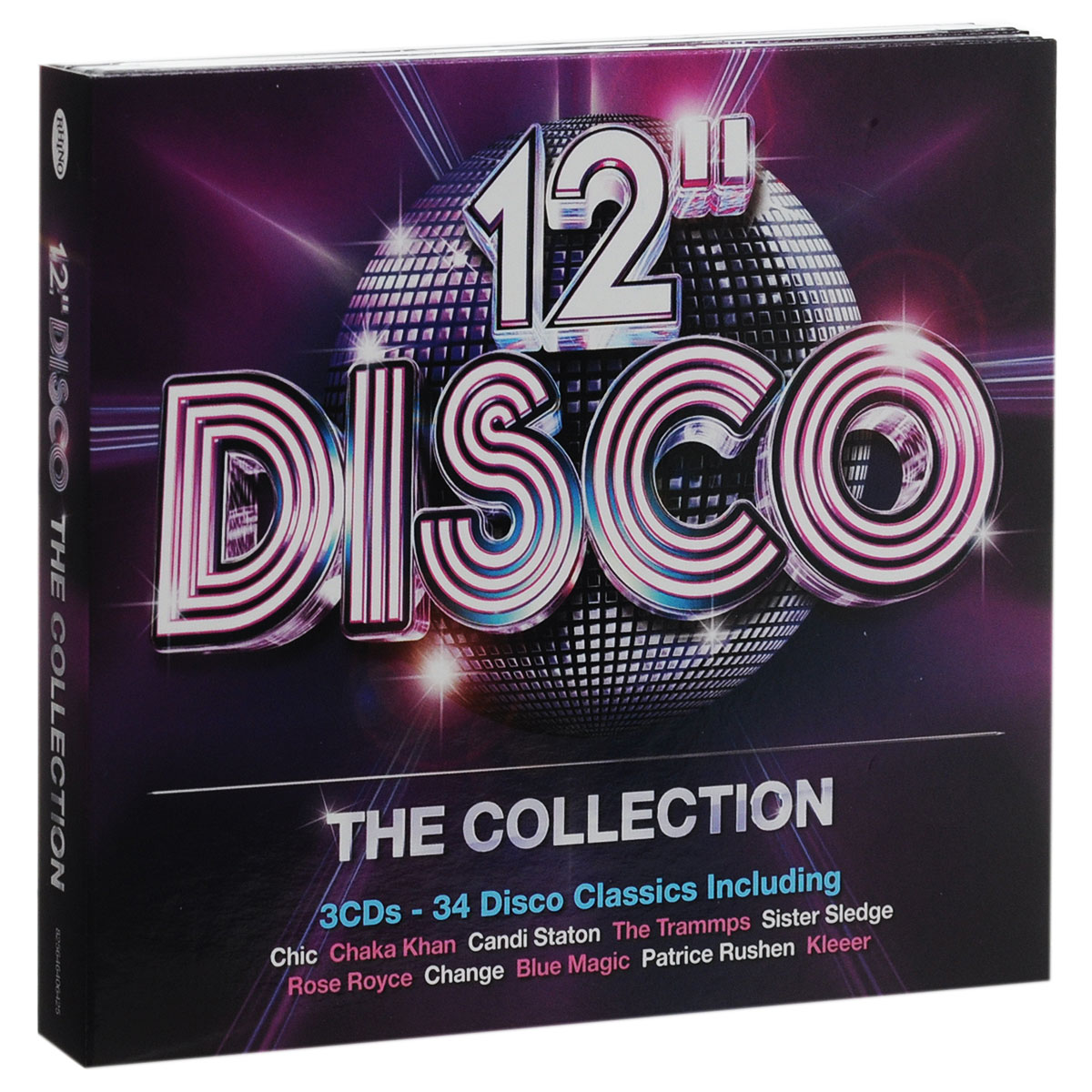 12 Disco. The Collection (3 CD) disco collection 80s
