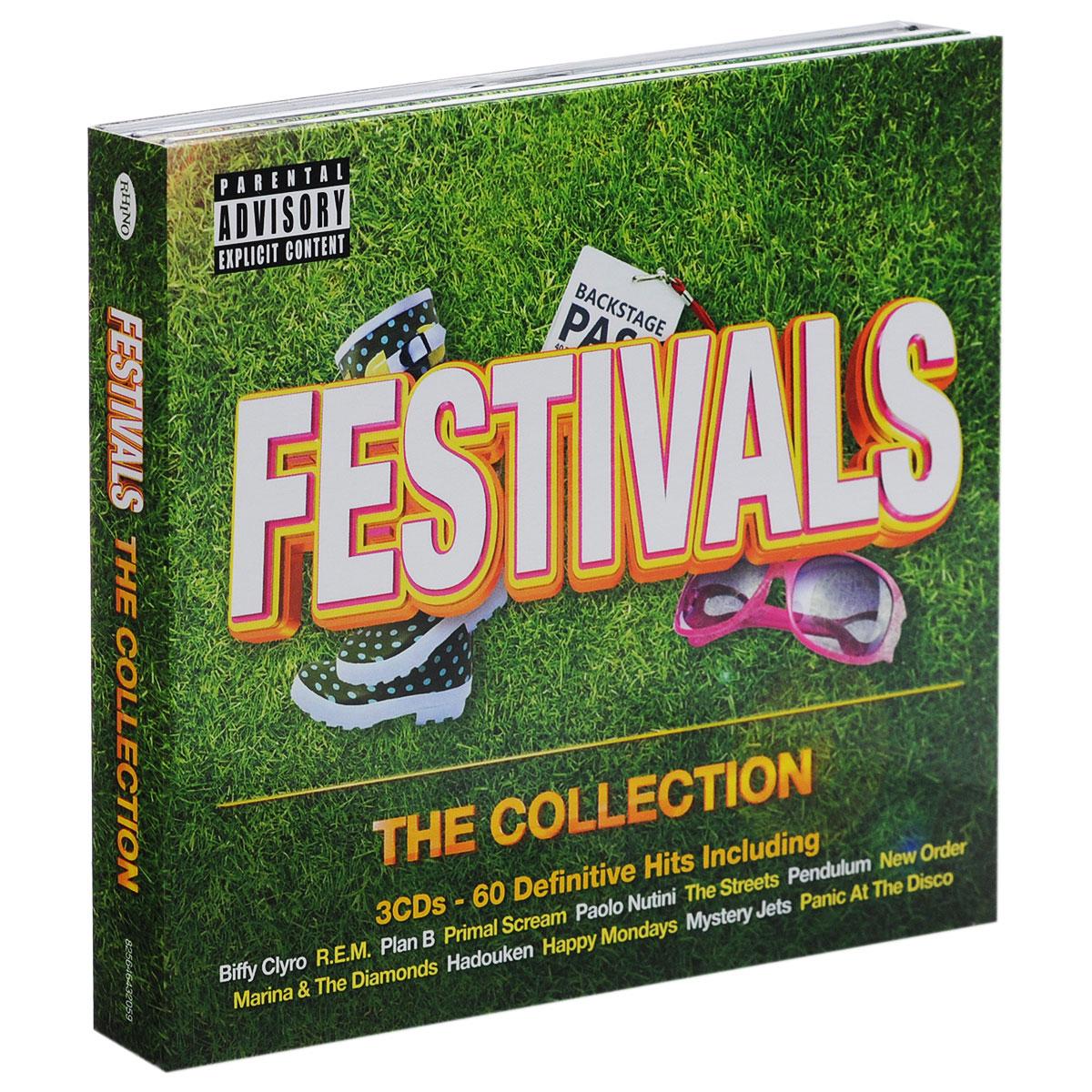 Festivals. The Collection (3 CD) festivals ne bk