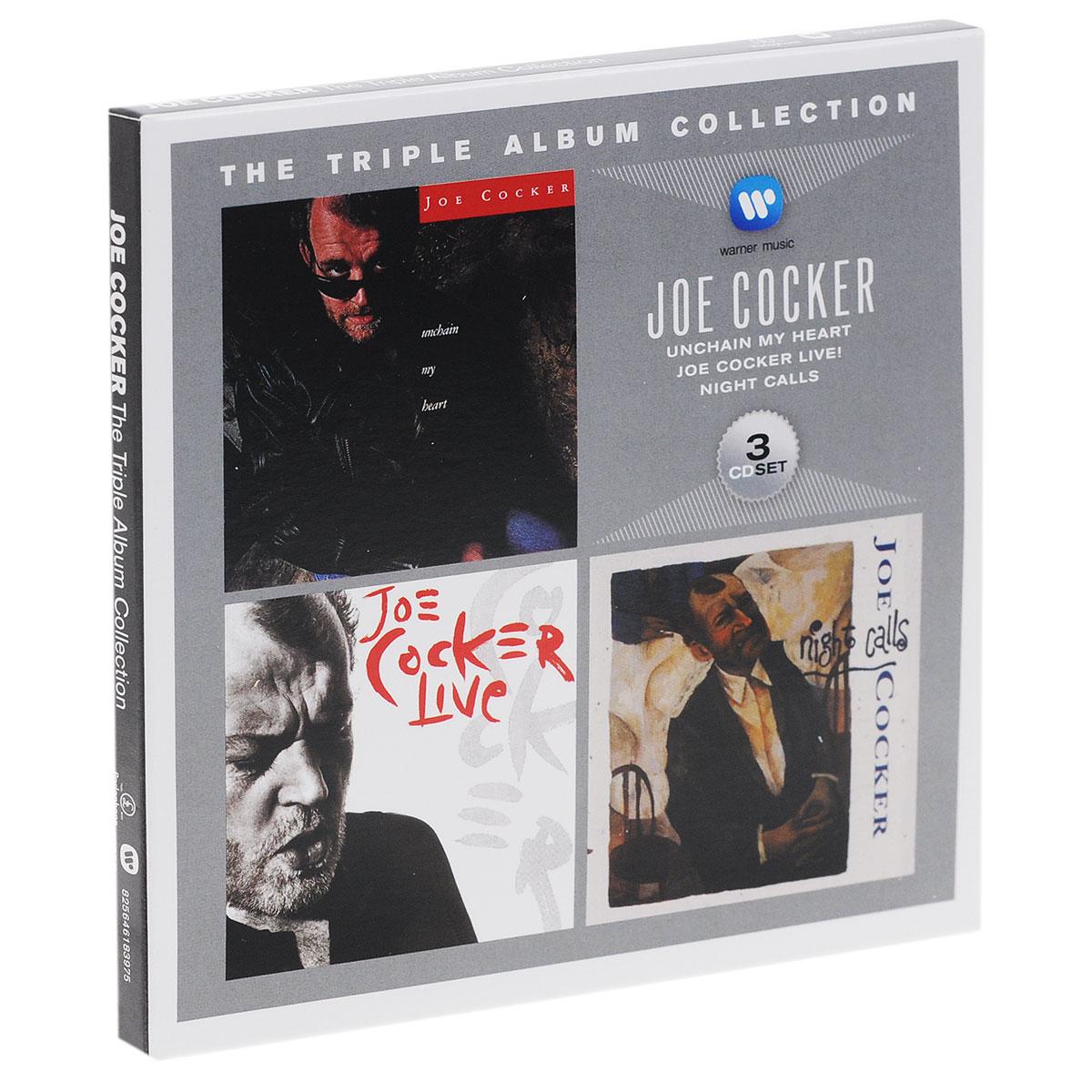 Джо Кокер Joe Cocker. The Triple Album Collection (3 CD) цена и фото