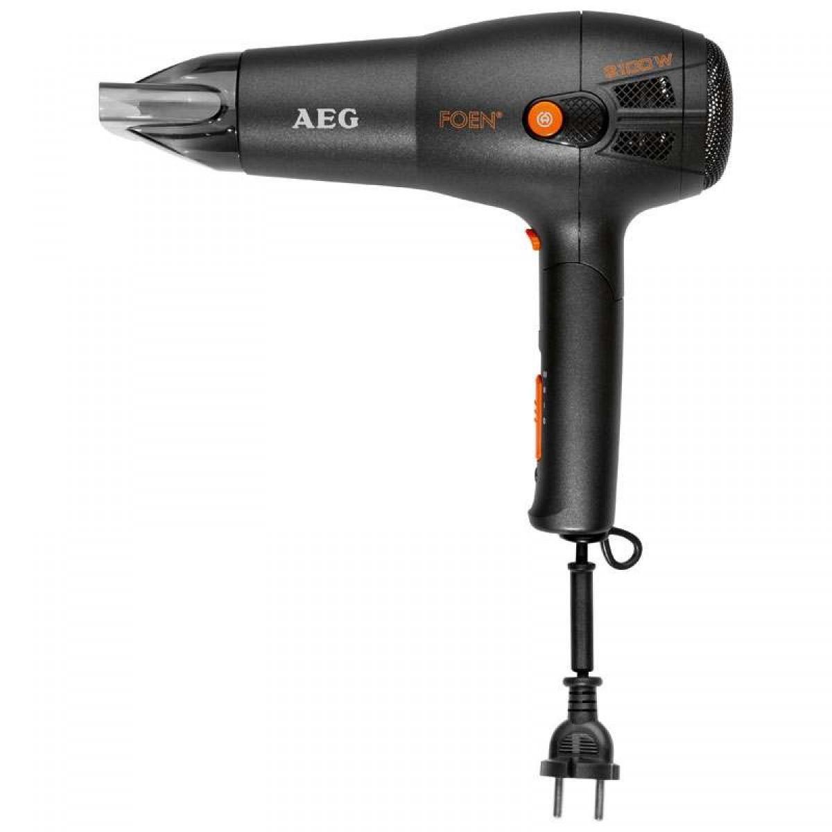 Фен AEG HT 5650 Ionic, Black цена