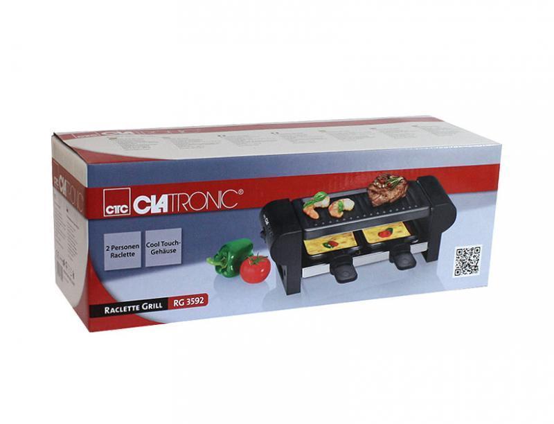 Электрогриль Clatronic RG 3592, Black Clatronic