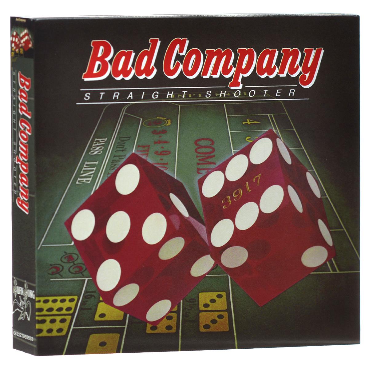 Bad Company Bad Company. Straight Shooter. Deluxe Edition (2 CD) bad company bad company straight shooter deluxe edition 2 cd
