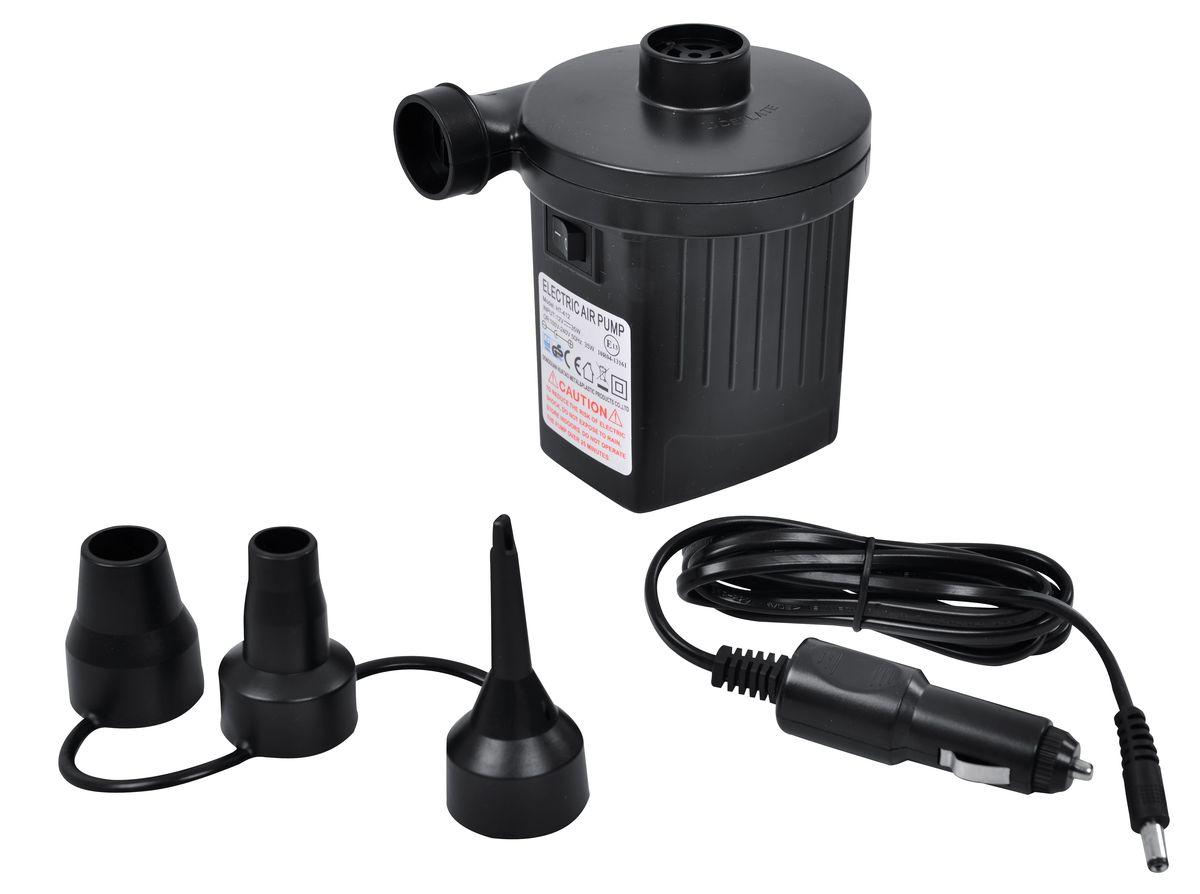 Насос электрический Jilong 2-Way Electric Pump, 220B/12B насос электрический bestway 62097 12v от прикуривателя