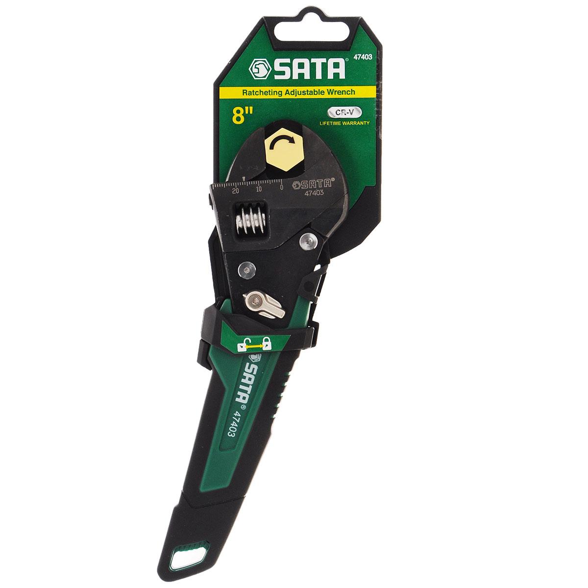 Разводной ключ SATA 47403 цена