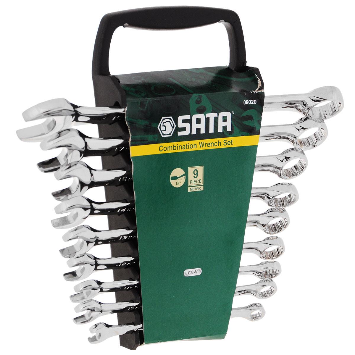 Набор ключей SATA 9пр. 09020 набор инструментов sata 09006