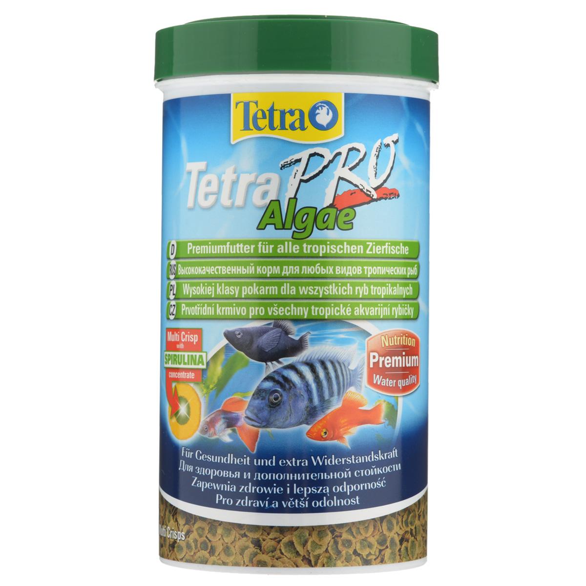 Корм сухой Tetra TetraPro. Algae для всех видов тропических рыб, чипсы, 500 мл (95 г)199217Полноценный высококачественный корм Tetra TetraPro. Algae для всех видов тропических рыб разработан для поддержания здоровья и придания дополнительной стойкости. Особенности Tetra TetraPro. Algae: - щадящая низкотемпературная технология изготовления для высокой питательной ценности и стабильности витаминов; - концентрат спирулина для повышения сопротивляемости организма; - инновационная форма чипсов для минимального загрязнения воды; - идеально подходит для растительноядных рыб; - легкое кормление. Рекомендации по кормлению: кормить несколько раз в день маленькими порциями. Состав: рыба и побочные рыбные продукты, зерновые культуры, экстракты растительного белка, дрожжи, моллюски и раки, масла и жиры, водоросли (спирулина 1%). Аналитические компоненты: сырой белок - 46%, сырые масла и жиры - 12%, сырая клетчатка - 3%, влага - 9%. Добавки: витамины, провитамины и химические вещества с аналогичным воздействием, витамин А 29810 МЕ/кг, витамин Д3 1860 МЕ/кг, Л-карнитин 123 мг/кг. Комбинации элементов: Е5 Марганец 67 мг/кг, Е6 Цинк 40 мг/кг, Е1 Железо 26 мг/кг. Красители, консерванты, антиоксиданты. Товар сертифицирован.