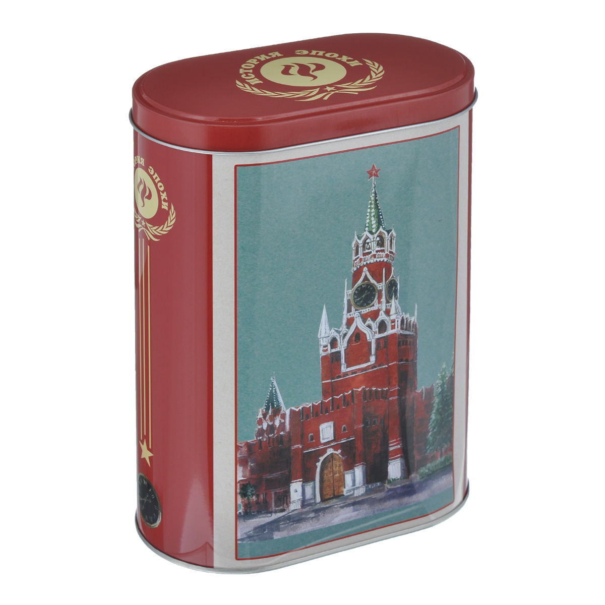 Банка для сыпучих продуктов Феникс-презент Кремль, 1,5 л банка для сыпучих продуктов феникс презент кофе 680 мл