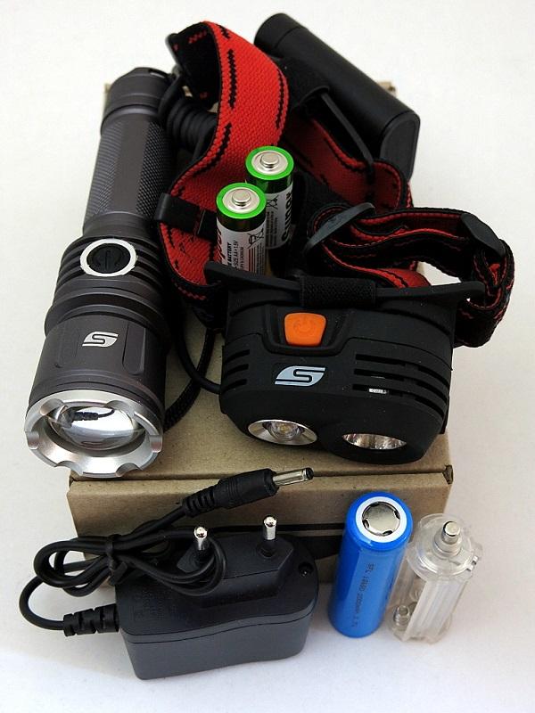 Набор фонарей SOLARIS Kit FZ-50/M40 с комплектацией