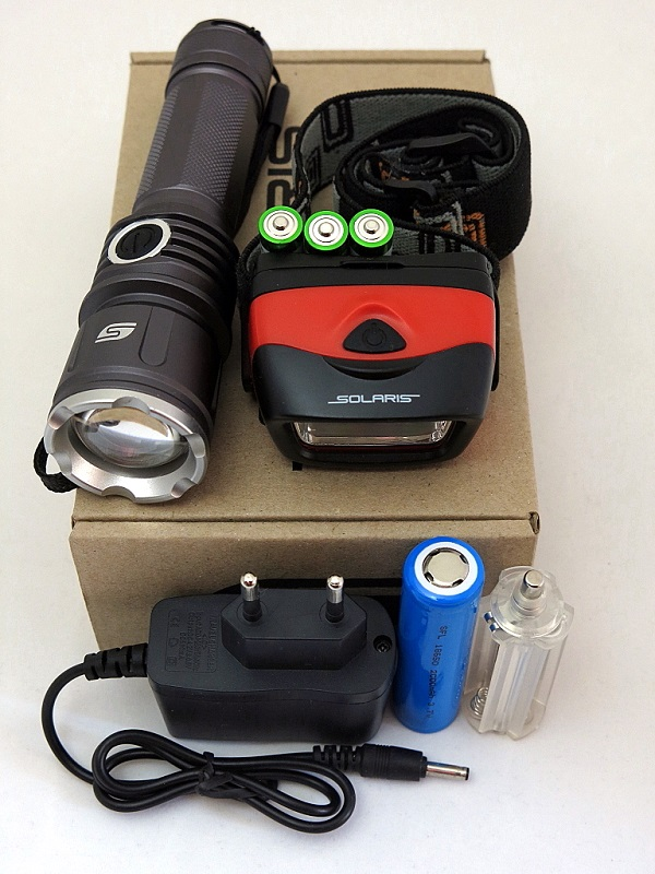 Набор фонарей SOLARIS Kit FZ-50/L20 с комплектацией