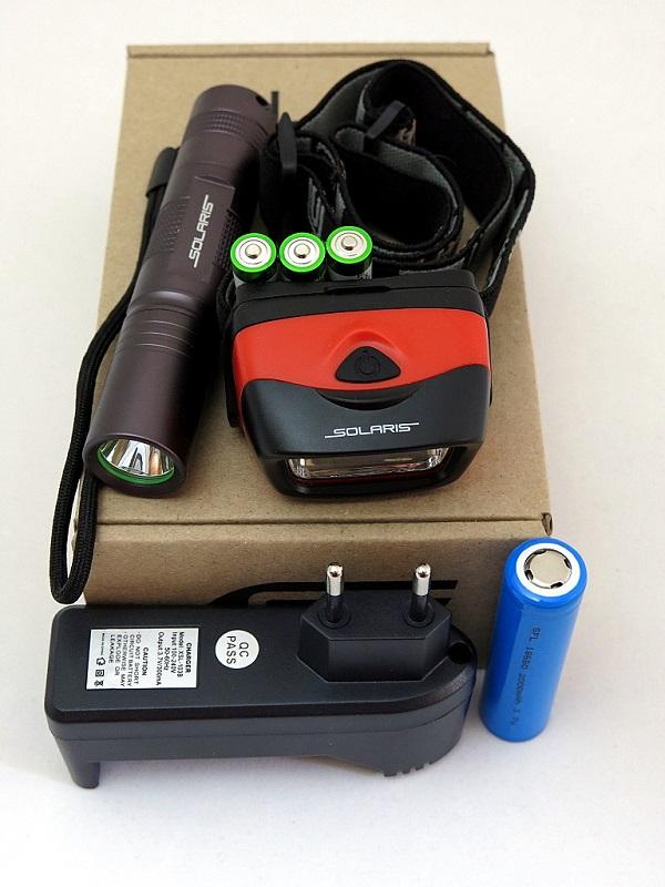 Набор фонарей SOLARIS Kit F-30/L20 с комплектацией