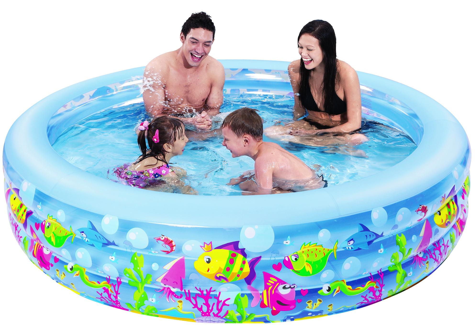 Бассейн надувной Jilong