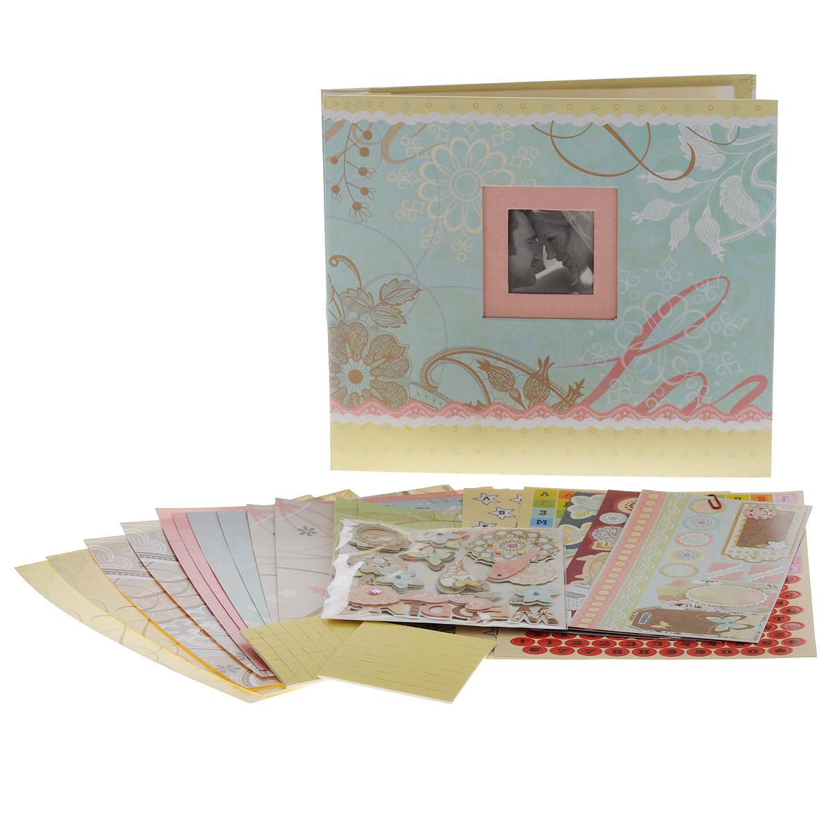 Набор для создания фотоальбома Белоснежка Мгновения набор для создания скрап альбома белоснежка цветочный