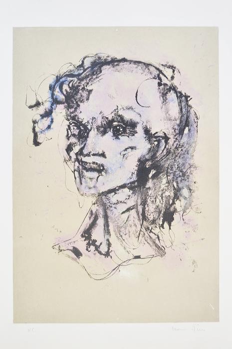 Цветная литография Фурия. Леонор Фини (Leonor Fini; 1908-1996). Франция, 1970-е гг. шампунь леонор