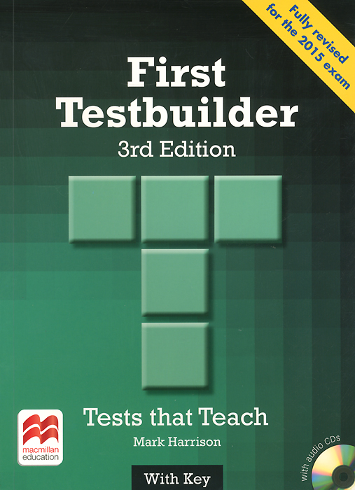 First Testbuilder: Student's Book with Key (+ 2 CD)
