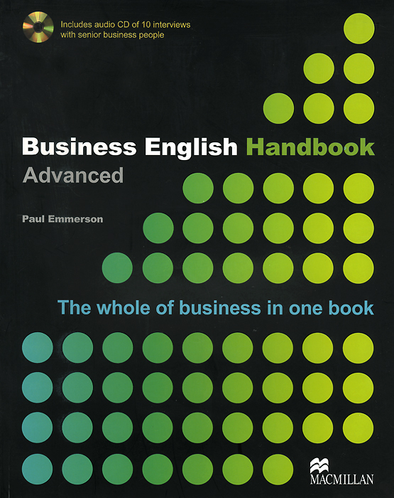 Business English Handbook: Advanced Level (+ CD) double dealing upper intermediate self study book [with audio cd x1 ]