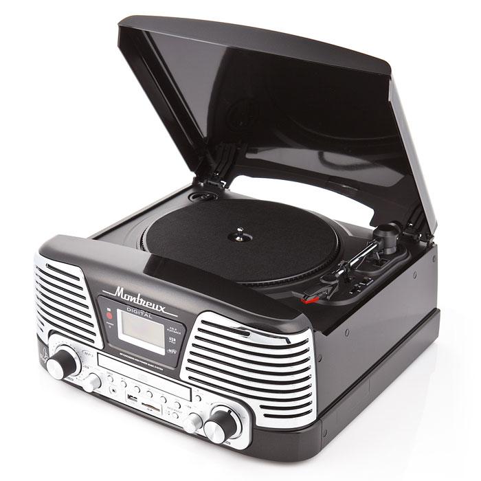 Проигрыватель виниловых дисков PlayBox Montreux, Black (PB-106D)