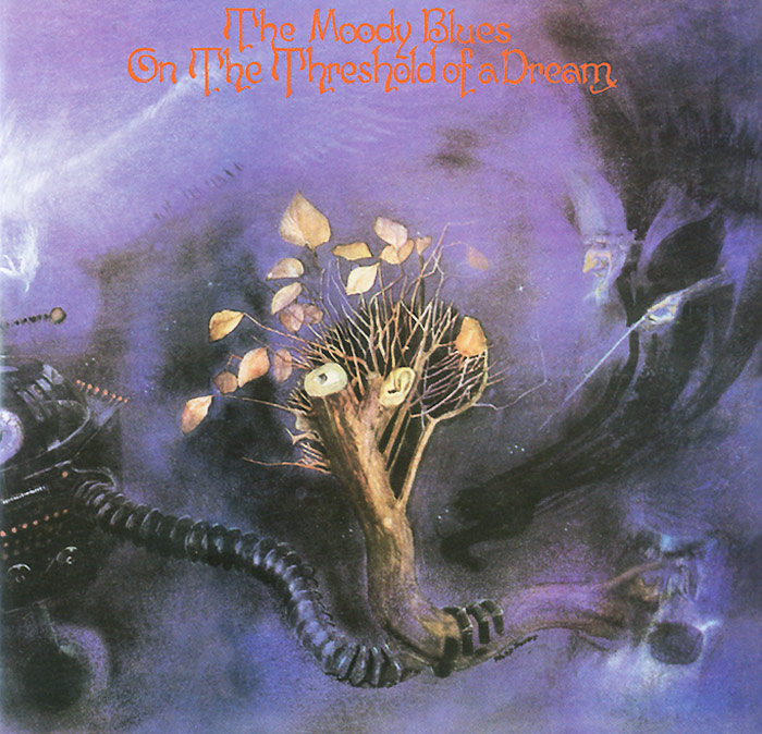 """""""The Moody Blues"""" The Moody Blues. On The Threshold Of A Dream"""