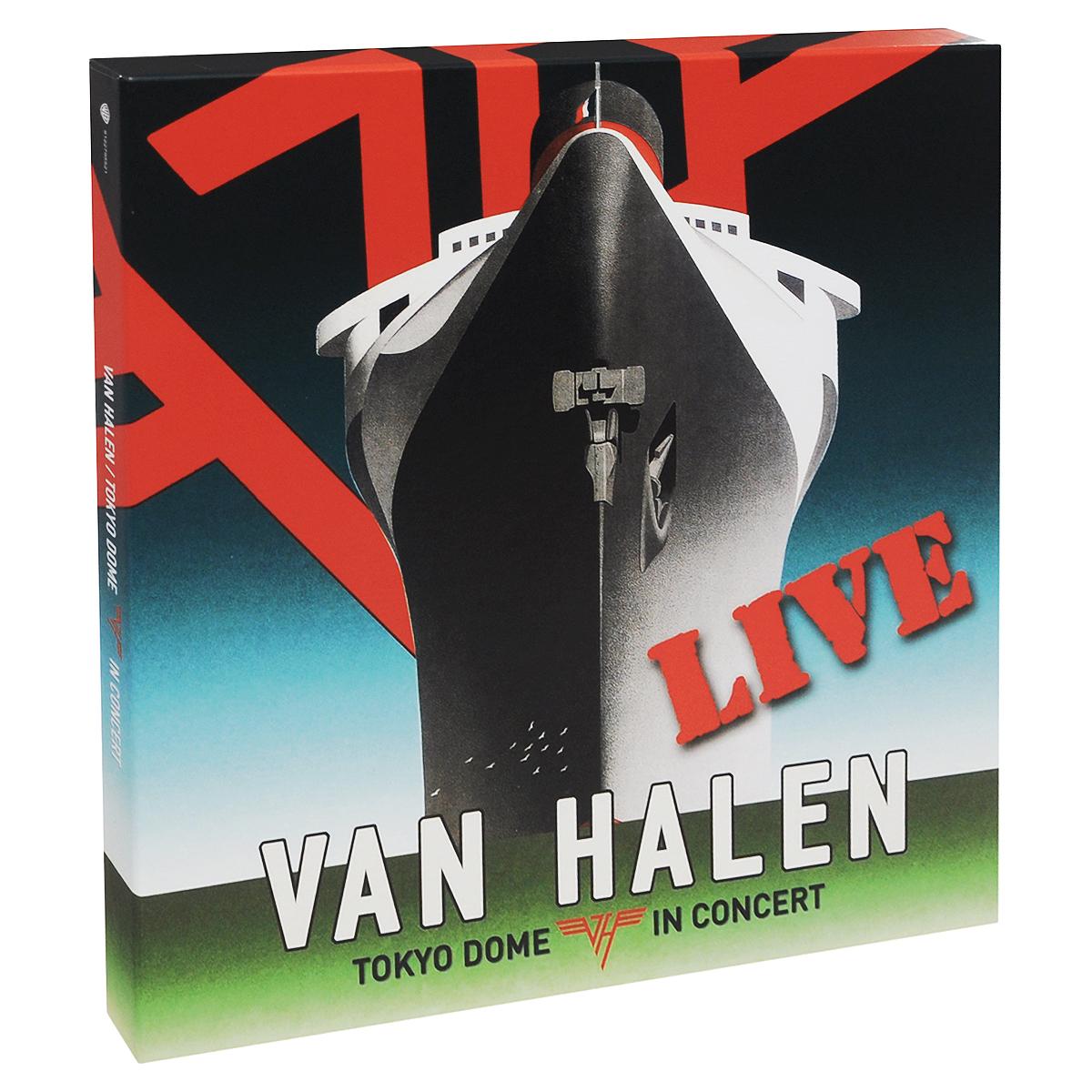 Van Halen Van Halen. Tokyo Dome In Concert. Live (4 LP) цена