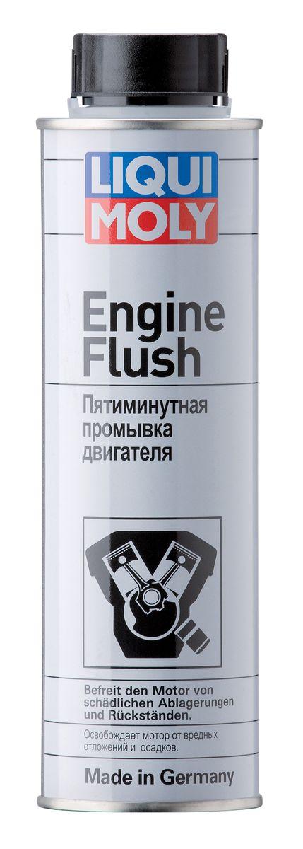 Пятиминутная промывка двигателя Liqui Moly Engine Flush, 300 мл промывка двигателя liqui moly промывка масляной системы двигателя 0 3л 1920
