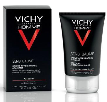 """Vichy Бальзам смягчающий после бритья """"Vichy Homme"""" для чувствительной кожи Sensi Baume Ca, 75 мл"""