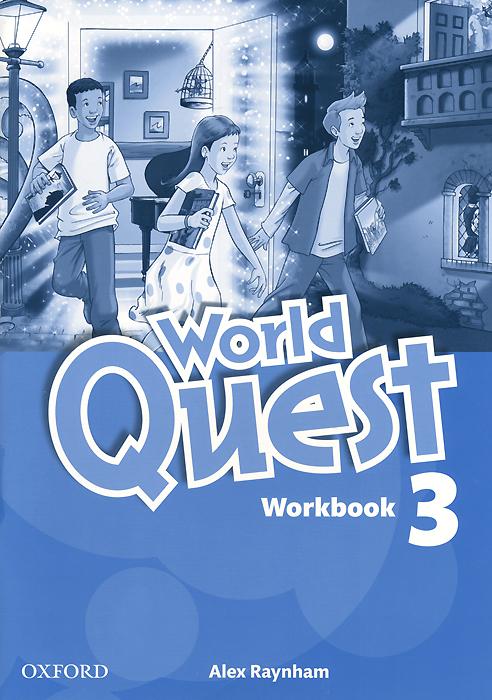 World Quest: Level 3: Workbook world class level 3 students book