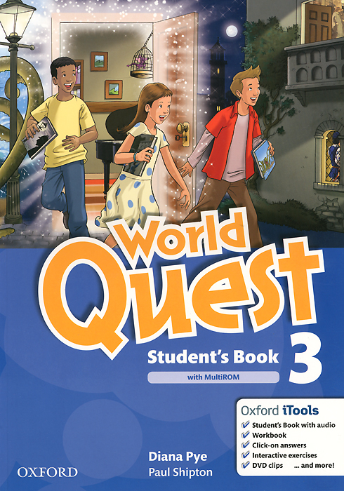 World Quest: Level 3: Student's Book world class level 3 students book