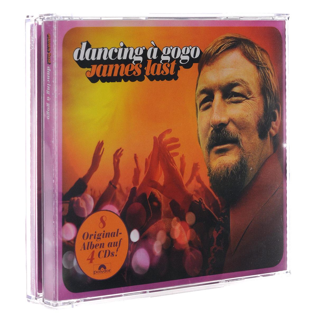 лучшая цена James Last. Dancing A Gogo (4 CD)