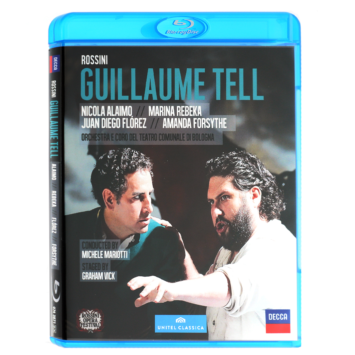 Rossini: Guillaume Tell (Blu-ray) rossini la cenerentola blu ray