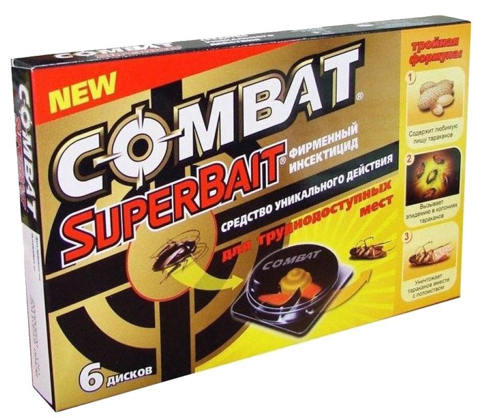 Henkel Ловушки для тараканов Combat Super Bait, 6 шт