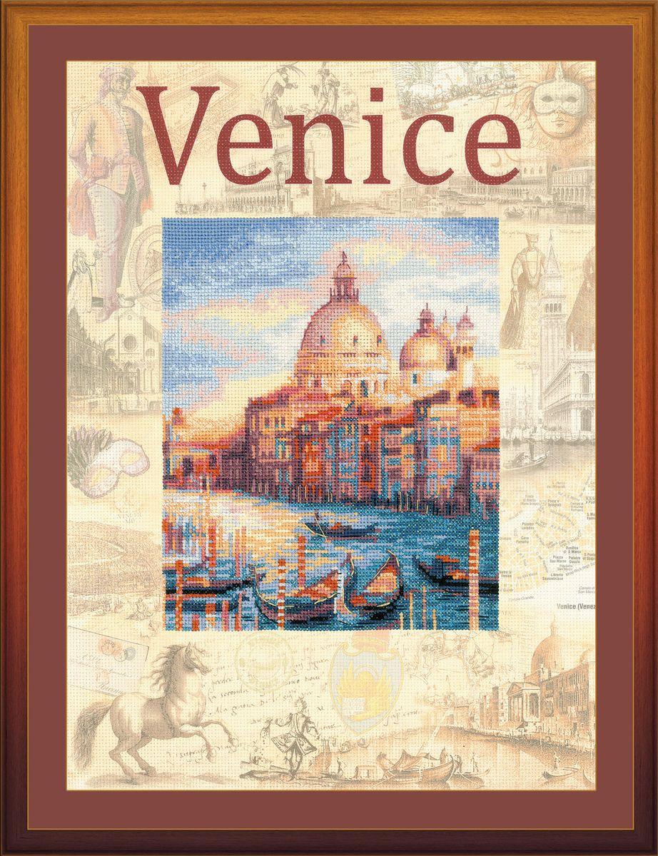 Набор для вышивания крестом Riolis Города мира. Венеция, 30 x 40 см 0030 набор для вышивания крестом riolis акварельные герберы 30 x 30 см 1485
