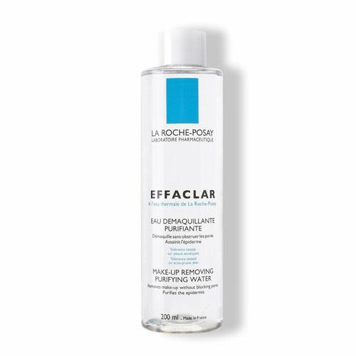 La Roche-Posay Жидкость очищающая для снятия макияжа для комбинированной и жирной кожи Effaclar 200 мл la roshe posay effaclar duo