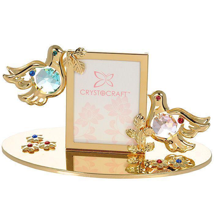 Фоторамка Влюбленные голубки, 4 х 5 см 67513 сувенир на 30 лет