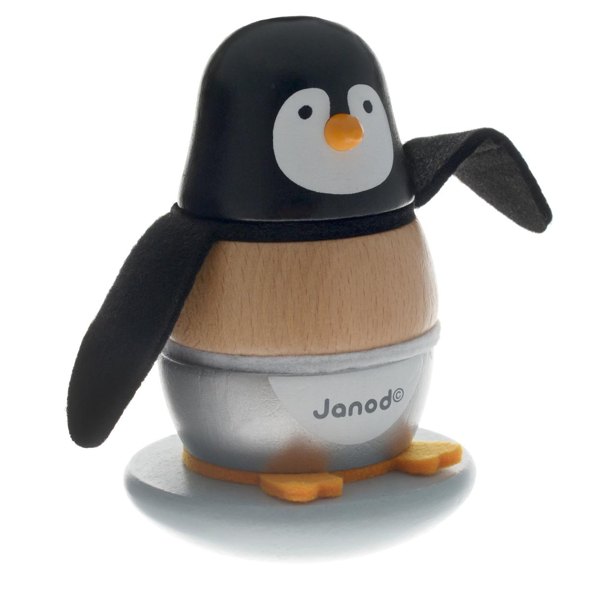 Janod Пирамидка Пингвинчик