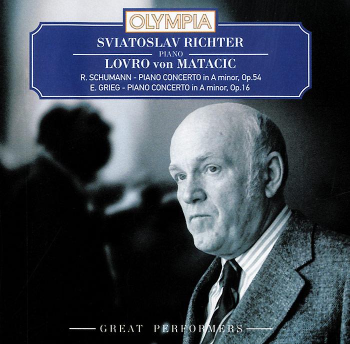 цена на Святослав Рихтер Sviatoslav Richter. Lovro Von Matacic. Schumann / Grieg. Piano Concertos