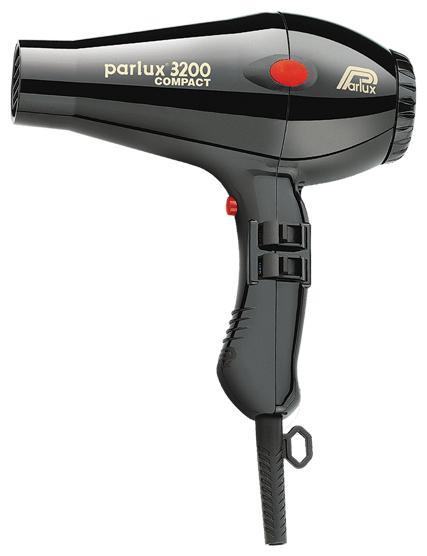 Фен Parlux 3200 Compact 0901-3200, Black фен bosch phd9940 powerac compact