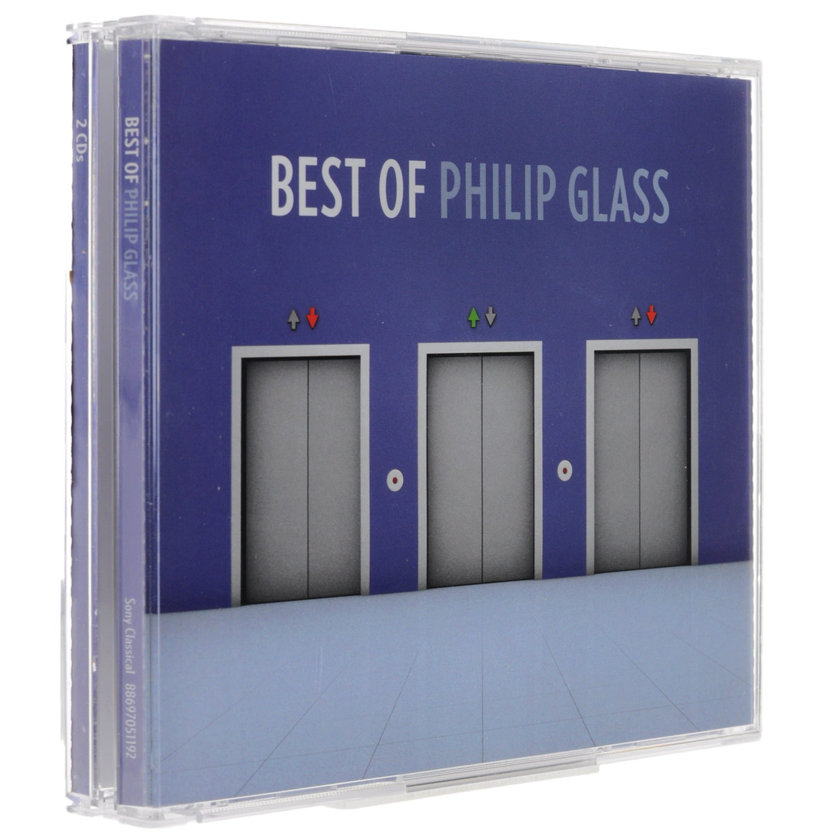 лучшая цена Philip Glass. The Best Of Philip Glass (2 CD)