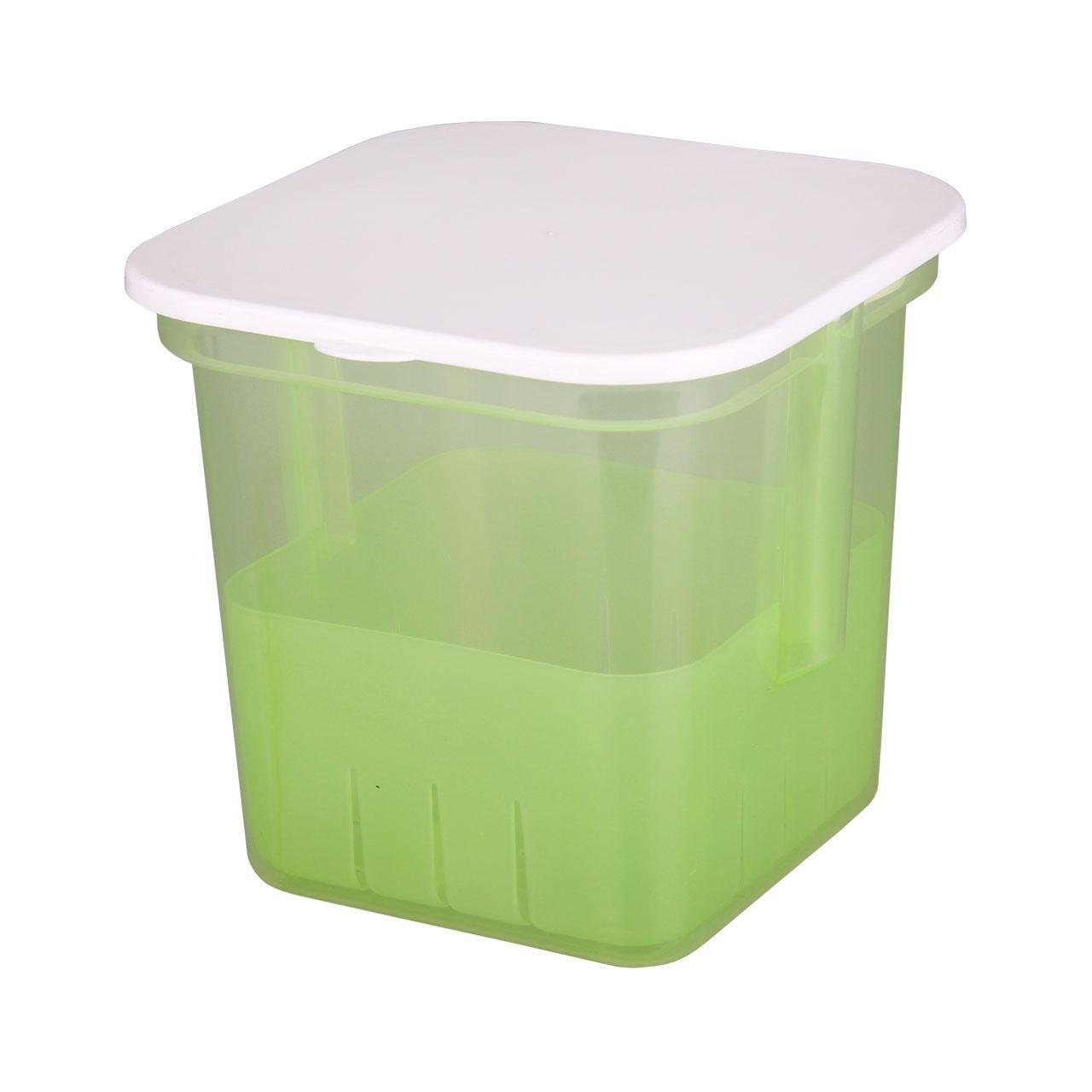 Банка для солений Альтернатива, с крышкой и вставкой, цвет в ассортименте, 3 л ящики для игрушек альтернатива башпласт контейнер лапландия 7 л