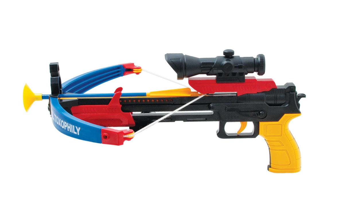 Игрушечный арбалет «Стрела» АК-10 арбалет игрушечный паркматика арбалет средний 22 заряда пм17 04